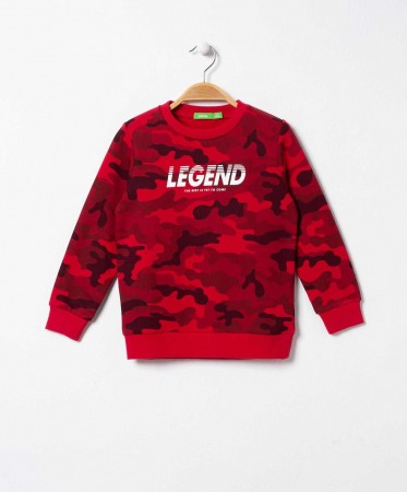 detail BOY'S 100% COTTON KNITTED PULLOVERS